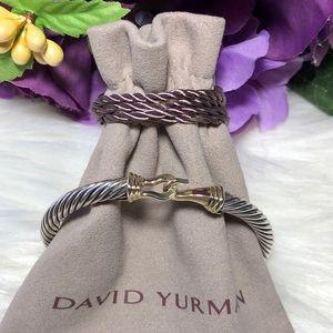 ❤️ David Yurman - Classic Buckle Bracelet 14K 5mm
